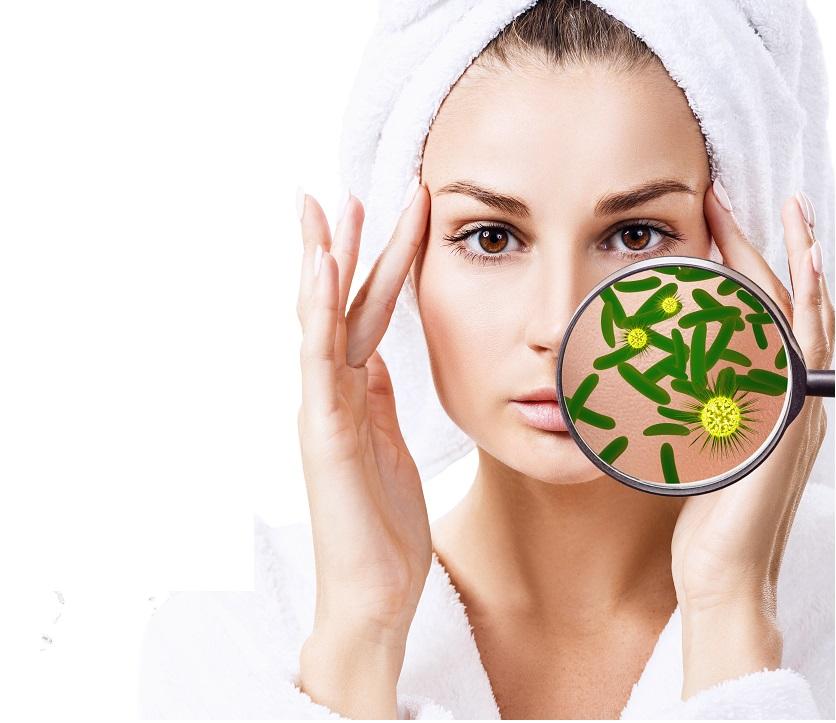 Des d'enzymes « sentinelles » qui protègent la peau d'inflammations déplacées, en ignorant certains microbes ou virus (Visuel adobe stock 197978383)