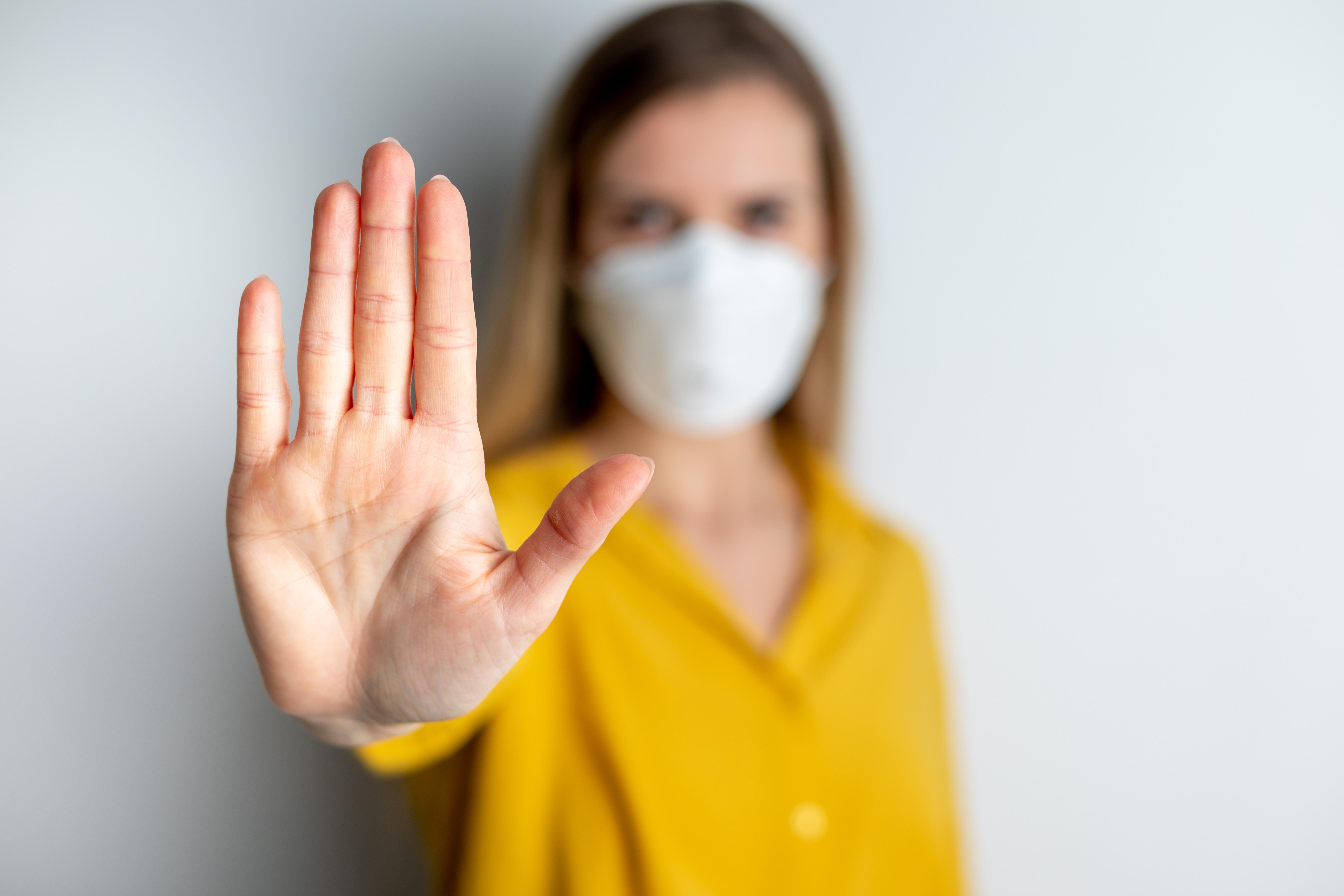 « Mon masque vous protège, votre masque me protège » (Visuel AdobeStock_330696585)