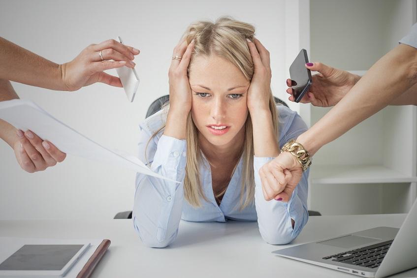 En cas d'exposition au stress au travail, les femmes ont tendance à répondre par une prise de poids à long terme