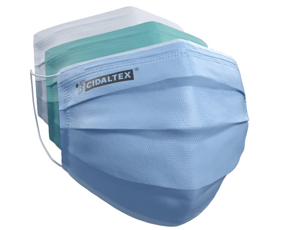 C'est sur la base de cette nécessité de pouvoir respirer n'importe où, sans crainte d'une contamination, que se fonde cette technologie, ainsi que le masque Cidaltex®, son application la plus directe.