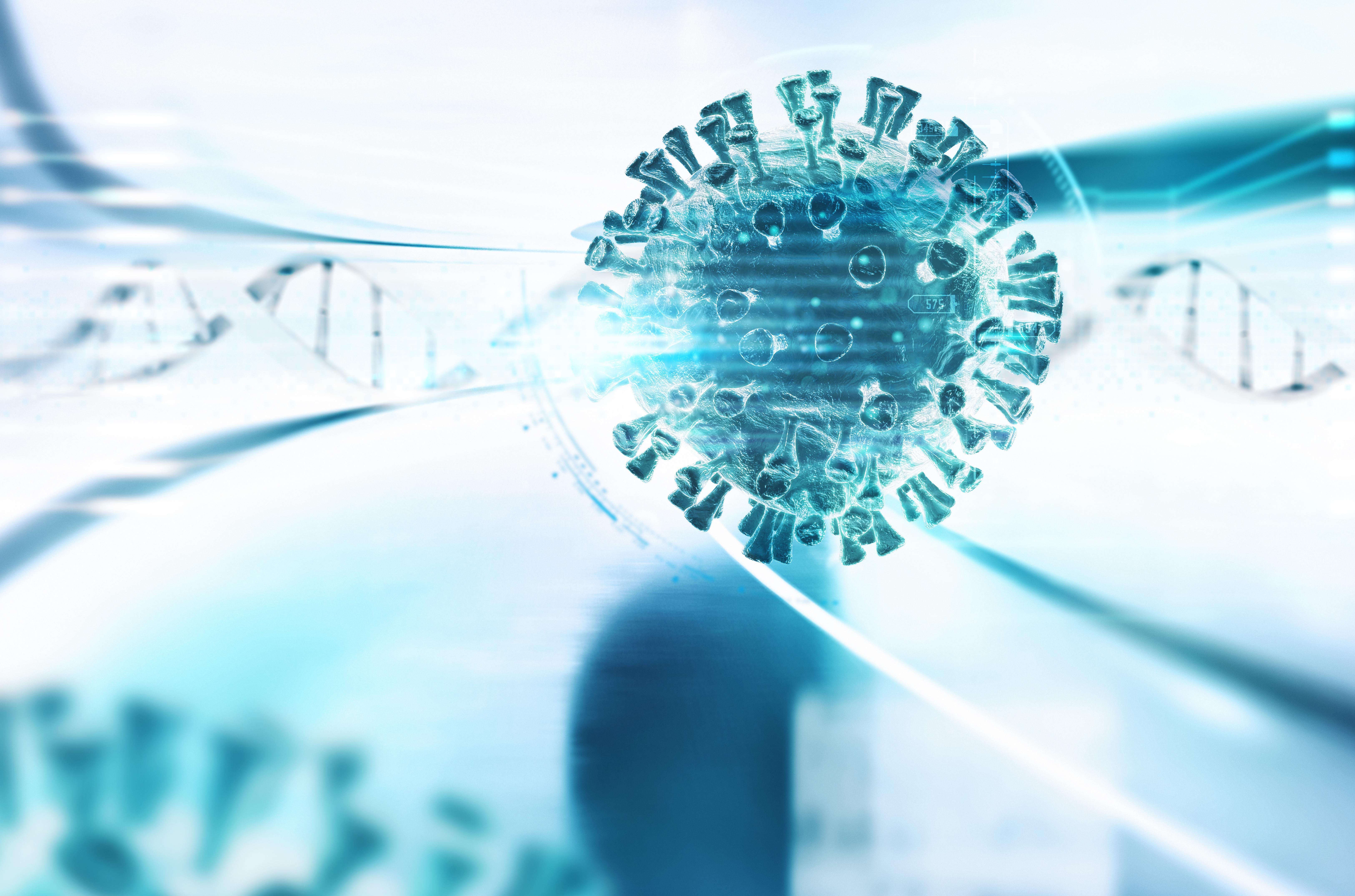 Une nouvelle protéine qui contribue à rendre le SRAS-CoV-2 extrêmement infectieux et capable de se propager très rapidement dans les cellules humaines vient d'être découverte (Visuel Adobe Stock 330943474)