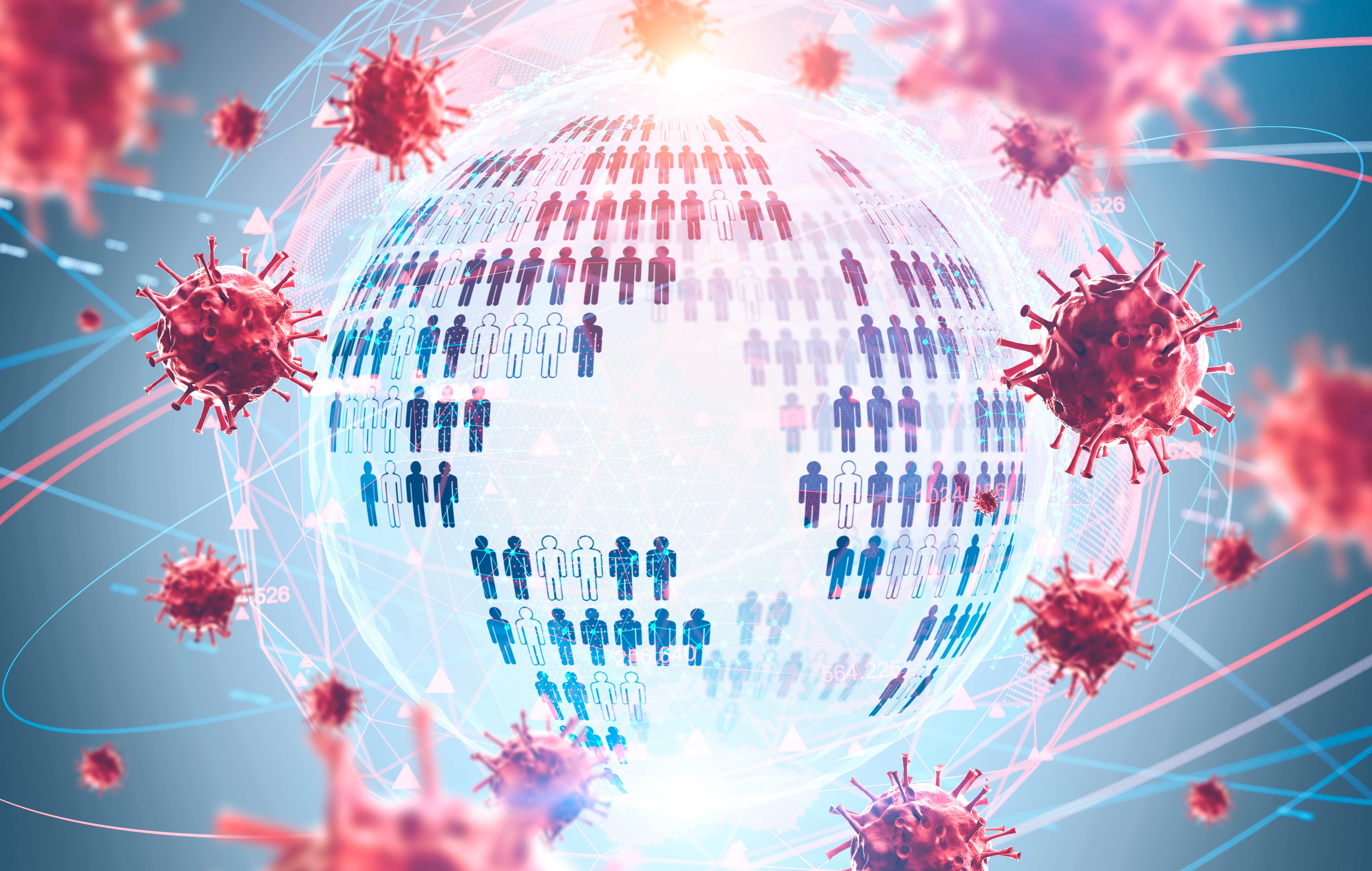 Les dernières statistiques mondiales annoncent près de 32 millions de cas et près d'1 million de décès associés au COVID-19, mais cette estimation est-elle représentative de l'effet réel du COVID sur la mortalité ? (Visuel Adobe Stock 333864843)