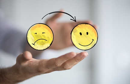 Il n'y a pas de honte à être triste ou de mauvaise humeur !