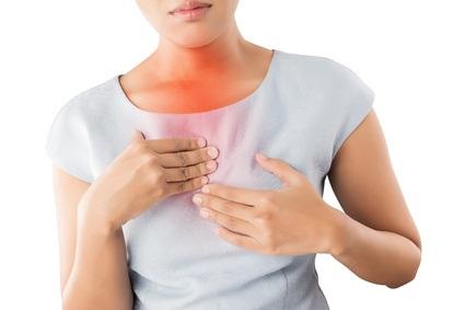 L'incidence globale du RGO est 1,6 fois plus élevée chez les patients fibromyalgiques