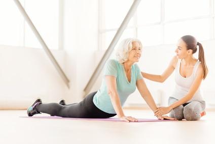 L'exercice atténue l'anxiété et les troubles de l'humeur également chez les personnes âgées atteintes de cancer.