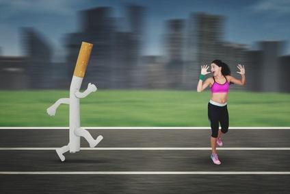 La pratique de l'exercice permet de s'arrêter plus facilement de fumer