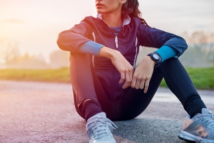 Faire du sport apporte une sorte de calme mental.
