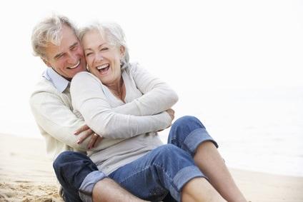 À mesure que les couples vieillissent, l'humour remplace les querelles