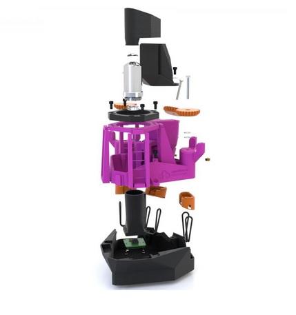 18 dollars, c'est le prix de revient de ce microscope de laboratoire conçu pour impression en 3D par une équipe de l'Université de Bath et « opensource » pour les laboratoires