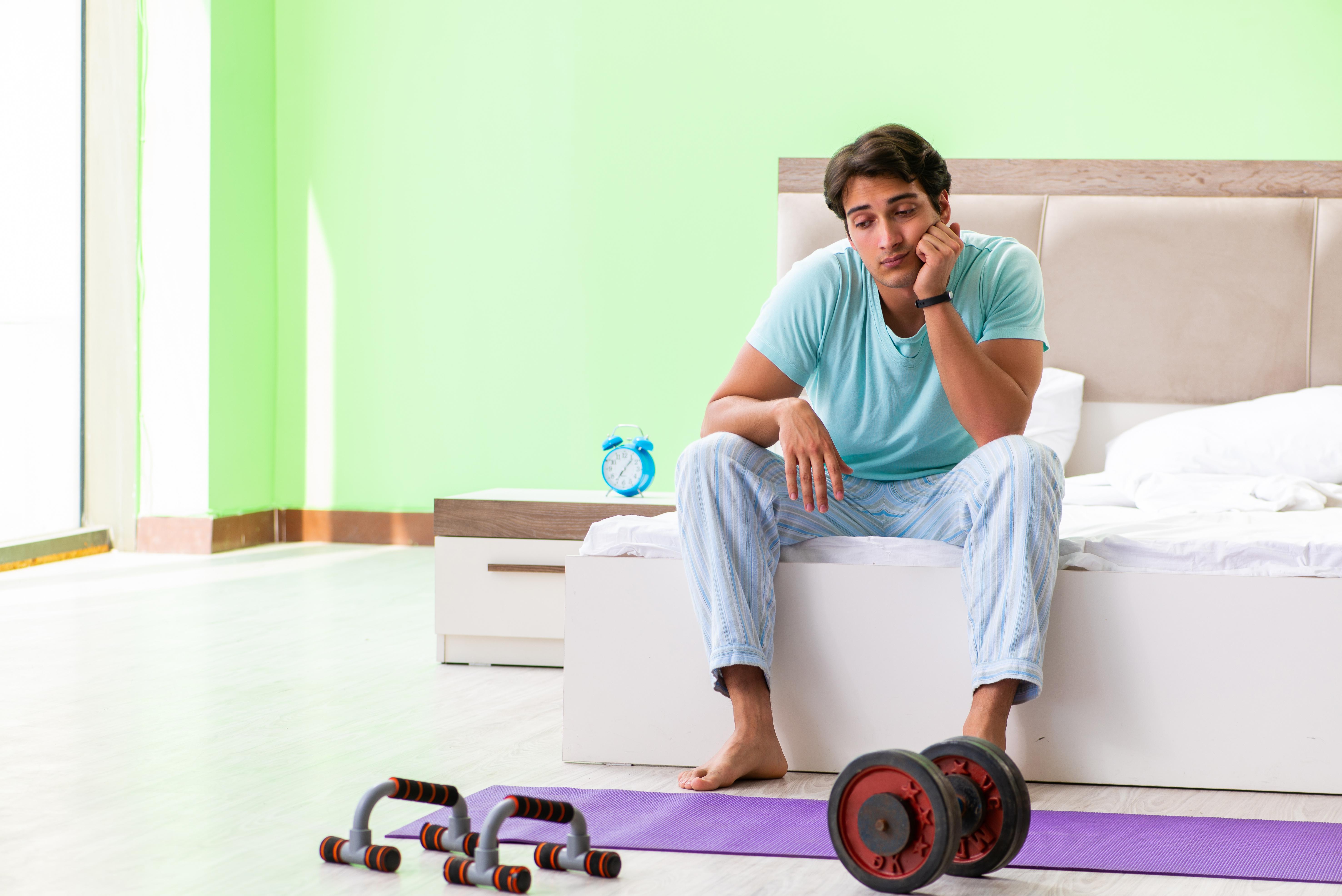 La pandémie a créé un paradoxe : la santé mentale est devenue à la fois un facteur de motivation et un obstacle à la pratique de l'activité physique (Visuel Fotolia)