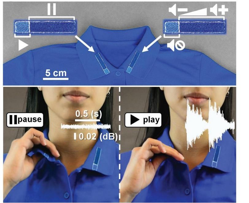 Ces vêtements intelligents sont aussi respirants, imperméables, antitaches et antibactériens.