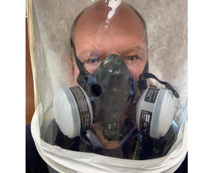 Les thérapies par aérosol peuvent favoriser la propagation d'aérosols infectieux (Visuel ATS)