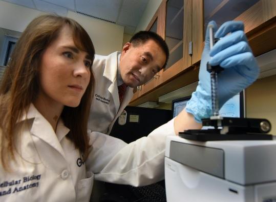 Les quelques mutations génétiques connues comme associées au glaucome n'expliquent qu'environ 10% des cas.