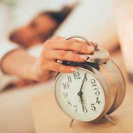 Les couche-tard ont une durée de sommeil réduite mais une longévité également réduite