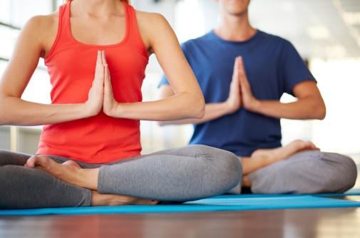 Le yoga Bikram est pratiqué à une température de 40° et à fort taux d'humidité