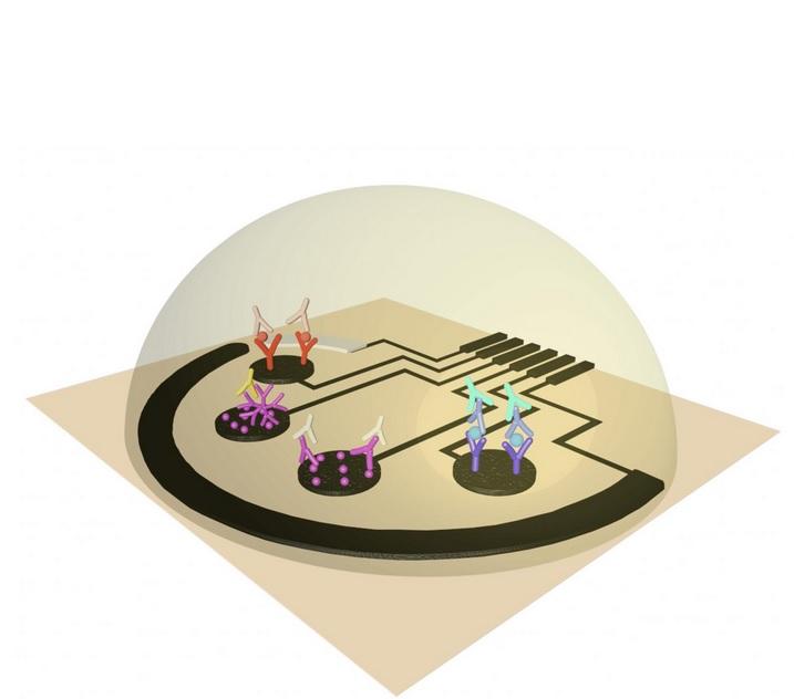 Capteur développé par Caltech
