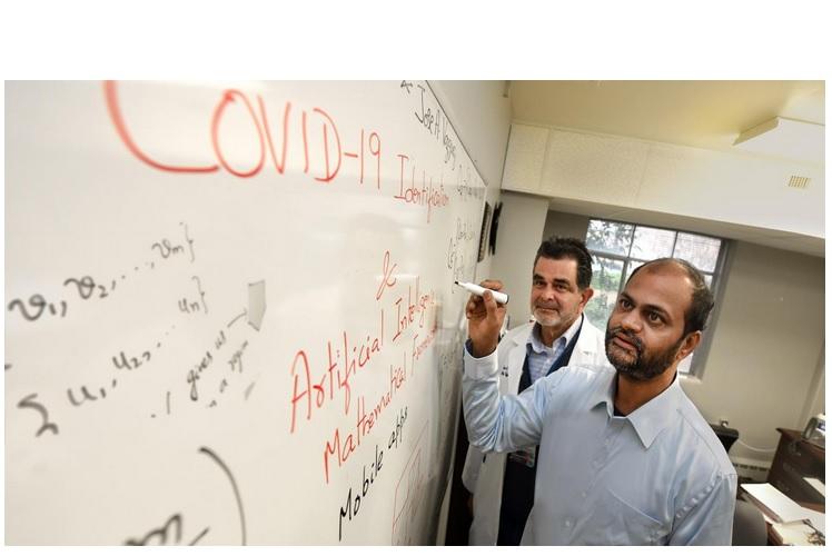Dr Arni S.R. Srinivasa Rao, directeur du Laboratoire de modélisation des maladies infectieuses de l'Université Augusta.