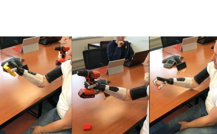 Les porteurs de prothèses pourront ressentir l'environnement externe par le toucher dont la forme ou la texture d'un objet.