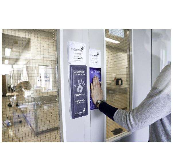 Cette étude d'efficacité menée durant 7 jours sur l'utilisation de Surfaceskins à la place des plaques de porte en alu confirme que ces revêtements de portes de nouvelle génération sont bien plus efficaces