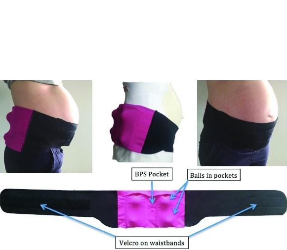 Pour cette thérapie portant sur la position du sommeil, les chercheurs ont utilisé un dispositif expérimental, PrenaBelt, une ceinture capteur de position du corps.