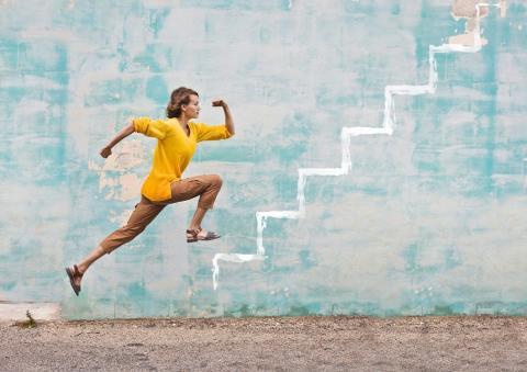 Or une bonne performance équivaut à gravir très rapidement trois étages d'escalier.