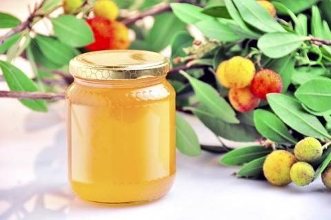 Le miel extrait des fleurs de l'arbousier (Arbutus unedo) est apprécié dans le secteur de l'apiculture pour ses caractéristiques organoleptiques, en particulier pour son goût amer fort et sa couleur sombre.