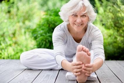 Un effet positif de l'exercice sur la stabilité des niveaux cérébraux de choline, un métabolite dont l'augmentation est associée à la perte de cellules nerveuses