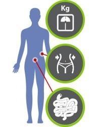 Comme l'apport de certains nutriments ou de probiotiques qui vont, en régulant notre métabolisme, induire naturellement ou faciliter la perte de poids.