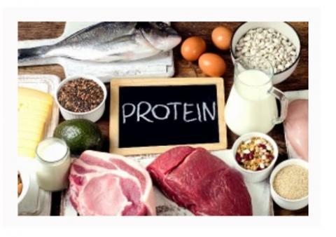 Chez les personnes âgées atteintes d'ostéoporose, un apport en protéines alimentaires supérieur aux niveaux actuellement recommandés peut contribuer à réduire la perte osseuse et le risque de fracture, en particulier de fracture de la hanche, à condition de respecter aussi des apports en calcium adéquats.
