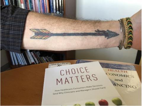 Les personnes tatouées s'avèrent plus susceptibles d'être diagnostiquées avec un problème de santé mentale
