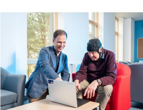 L'auteur principal, le Dr George Stothart du département de psychologie de l'Université de Bath propose une nouvelle approche, nommée « Fastball EEG » (Visuel University of Bath).