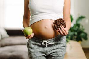 Si une mère suit un régime alimentaire malsain comportant beaucoup de calories par le biais de produits riches en graisses et sucrés, sa progéniture héritera d'une prédisposition à aimer ce même régime alimentaire malsain (Visuel AdobeStock_172641087).
