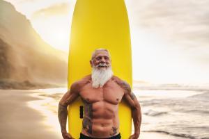 L'espérance de vie moyenne souhaitée est de plus de 91 ans (Visuel 314048507)