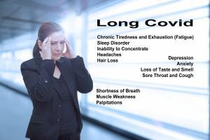 Ce sont plus de 200 symptômes touchant 10 systèmes organiques, qui sont identifiés comme associés au COVID long (Visuel Adobe Stock 428996694)