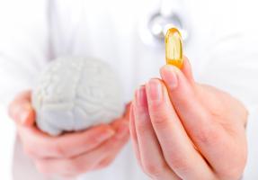 Les porteurs d'E4, avec la même dose, ont moins d'omega-3 dans le cerveau (Visuel Adobe Stock 69021123)