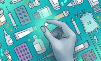 4 médicaments anti-VHC pourraient booster le remdesivir (Visuel Jenna Luecke / Université du Texas à Austin).