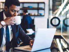 Une diminution voire l'absence de consommation de café 6 heures avant le coucher permet de réduire son impact sur le sommeil (Visuel ISIC).