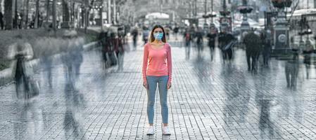 « Mon masque vous protège, votre masque me protège » (Adobe Stock 329119752)