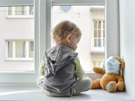Un petit nombre d'enfants infectés tombent gravement malades