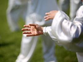 Le Tai Chi peut être pratiqué à des niveaux d'intensité faibles à modérés.