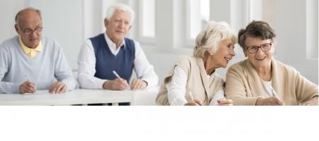 Environ 20% des personnes âgées de plus de 65 ans sont atteints de déficience cognitive légère