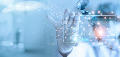 Une approche basée sur l'intelligence artificielle (IA) apparaît capable de prédire, pour les cliniciens, le pronostic des patients atteints de formes sévères ou de complications (Visuel Adobe stock 300546901)