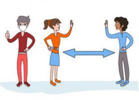 Pourquoi il faut être convaincu de l'avantage de la distanciation sociale (Visuel Adobe Stock)