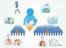 La petite enfance est confirmée comme une période critique de développement pulmonaire (Visuel Fuad Bahram)