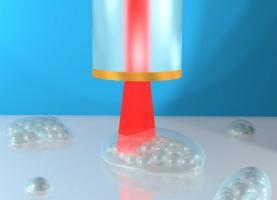 Une fibre unique d'imagerie ultrasonique capable d'accéder simultanément aux données spatiales 3D et aux propriétés mécaniques au niveau cellulaire ? (Visuel Dr Salvatore La Cavera)