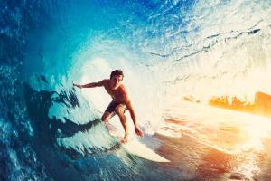 Seulement 17% des blessures de surf nécessitent une intervention chirurgicale