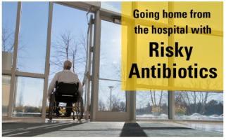 Si meux cibler la prescription de fluoroquinolone à l'hôpital est efficace, il faut poursuivre cet effort après la sortie de l'hôpital.