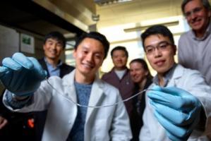 Cet implant, nommé TRAFFIC pour (Thread-Reinforced Alginate Fiber for Islets enCapsulation), vient d'être mis au point par des étudiants en doctorat de l'Université de Cornell