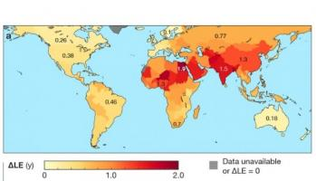 Une meilleure qualité de l'air pourrait permettre une augmentation significative de la durée de vie dans le monde, une augmentation probablement plus conséquente que celle liée aux progrès accomplis dans les traitements du cancer.