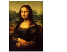 La Joconde, ou Portrait de Mona Lisa voire simplement Mona Lisa, tableau de Léonard de Vinci, réalisé entre 1503 et 1519